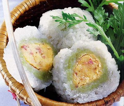 thuyet minh phuong phap lam banh khuc - Thuyết minh phương pháp làm bánh khúc